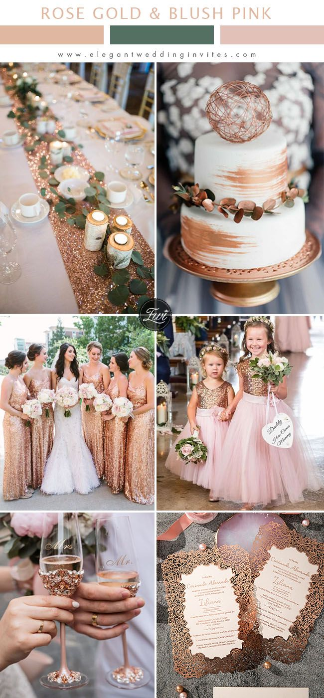 Elegantweddinginvites Com Blog Elegant Wedding Invites In 2020 Wedding Rose Gold Theme Rose Gold Wedding Decor Pink And Gold Wedding
