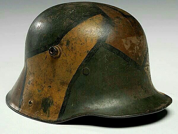 Imperial German helmet, World War 1.
