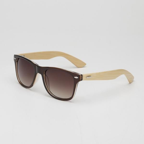 Rounded Bamboo glasses