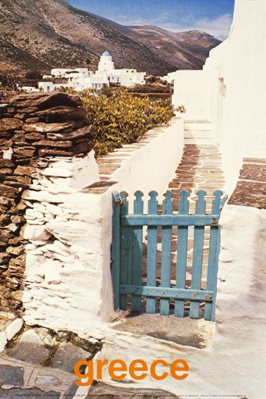 Greece - 1980 travel poster