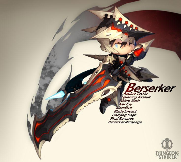 Dungeon Striker - Berserker male / from Dungeon Striker fansite kit