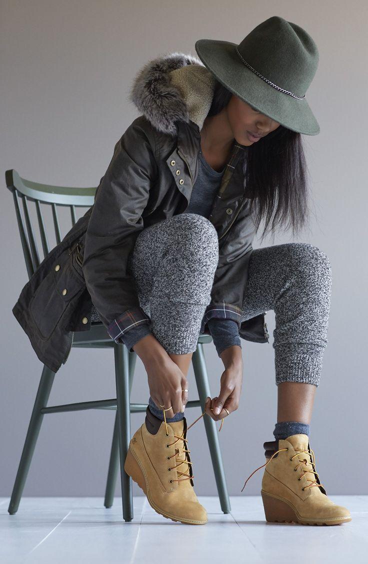 Timberland Earthkeepers® 'Amston' Boot (Women) wedge