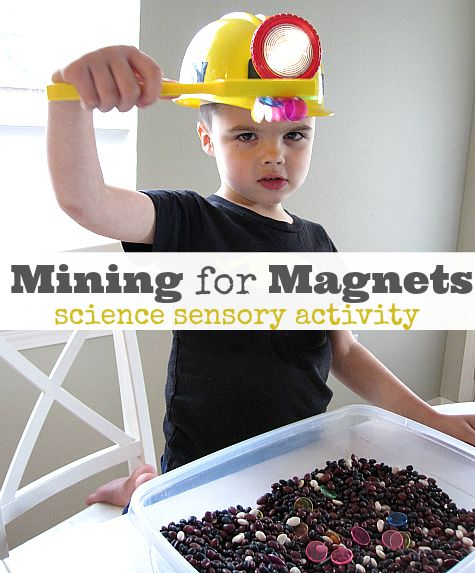 Simple but fun idea for magnets. Great for a science center.