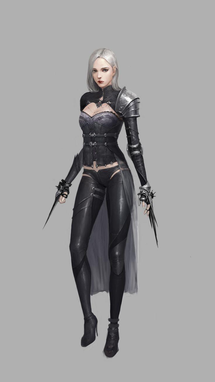 Dark Elf, Jiyeon Ryu on ArtStation at https://www.artstation.com/artwork/bVrqr