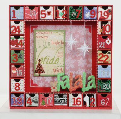 Photo Expressions Kaisercraft Wooden Advent Calendar