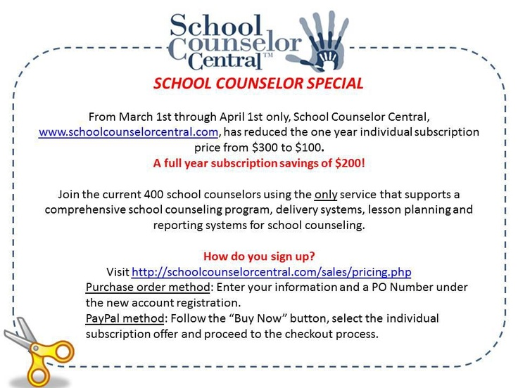 Best School Counselor Central Site Images On   School