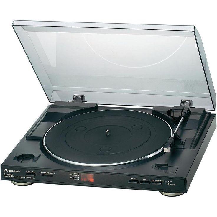 Pioneer PL 990 Giradischi, colore: Nero | eBay