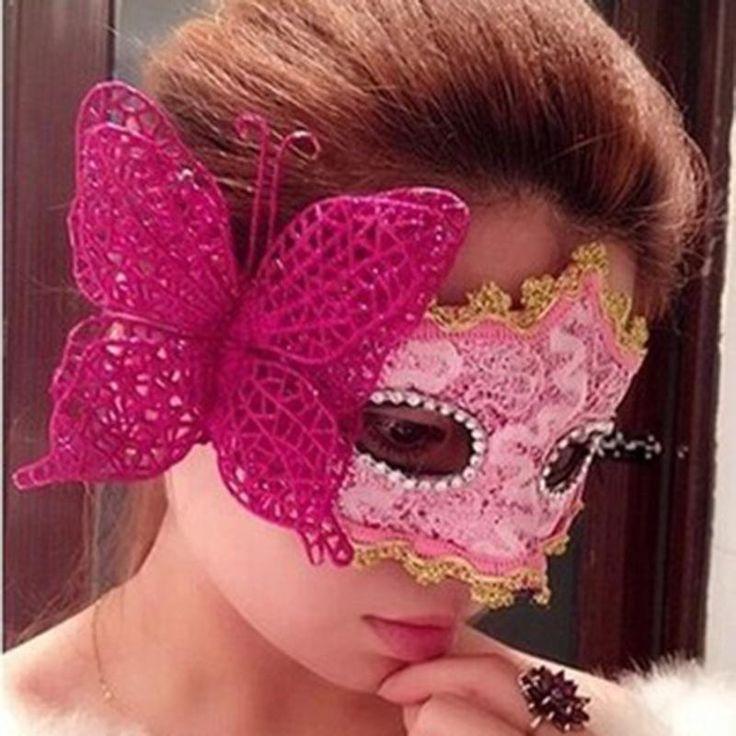 hollow half золочение маскарадные маски для женщин рождество маскарадные маски валентина бабочка принцесса макияж маски венецианские маски сделки в категории маска
