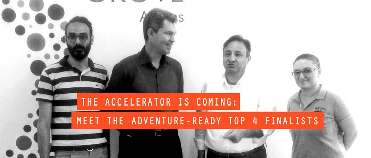 Just a few days before #TheAccelerator2016 finally launches, we invite you to meet the Top 4 uber-talented finalist teams! #ventureforth