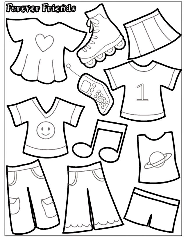 17 Best ideas about Paper Doll Template on Pinterest | Paper dolls ...