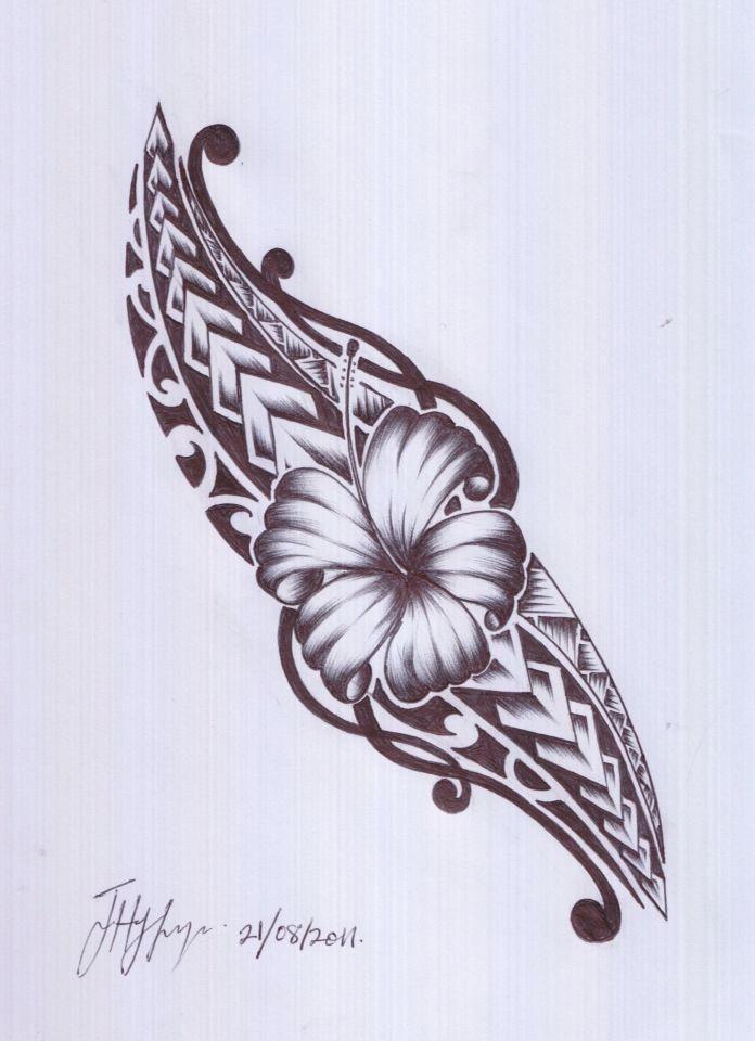 Maori Tattoo Love: A Samoan And Maori Design. I Would Love This In Oblique