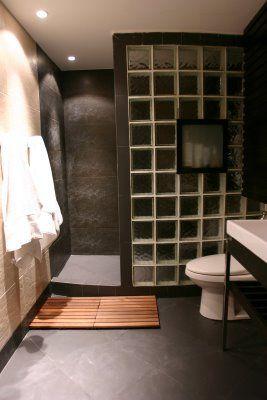 Glass block shower designs – alternative to the ceramic tile | Shower design ideas & pictures