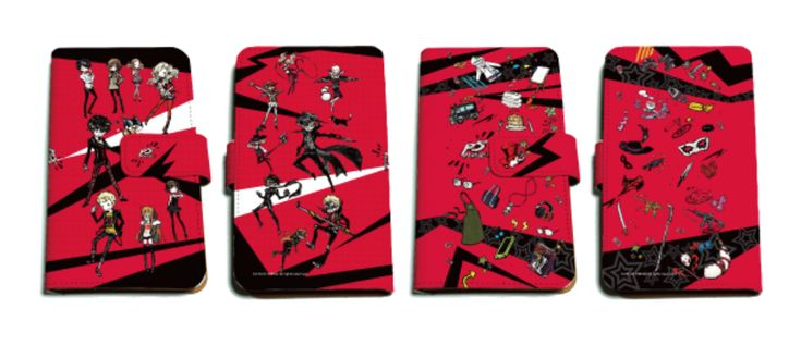 Picture of Persona 5 Shibuya Seibu Kinokuniya Pop Up Store Goods Smartphone Case