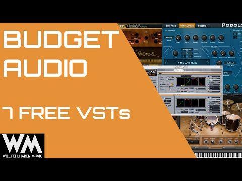 cool Budget Audio: 7 Free VST Instruments Crack Free Download VST