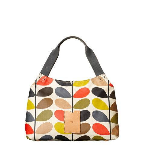 Fresh from the Spring Summer SS15 Orla Kiely collection, this classic multi stem shoulder bag is full of life and looks great with any outfit!  Orla Kiely Bags | Classic Multi Stem Print Shoulder Bag - By Cadeaux - Cadeaux.ie