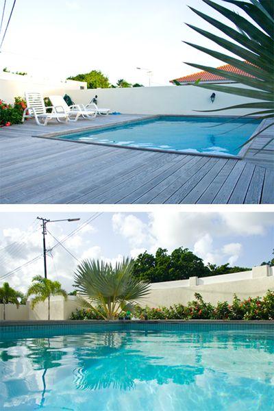 Wist je dat reisbladen een zwembad altijd laag vanaf de grond fotograferen? Zo lijkt het zwembad veel groter dan het is! #fotografietip  #compositie