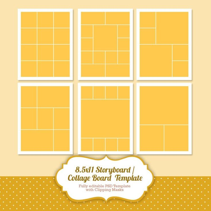 68 best Collage\/Storyboard Templates images on Pinterest - vertical storyboard sample