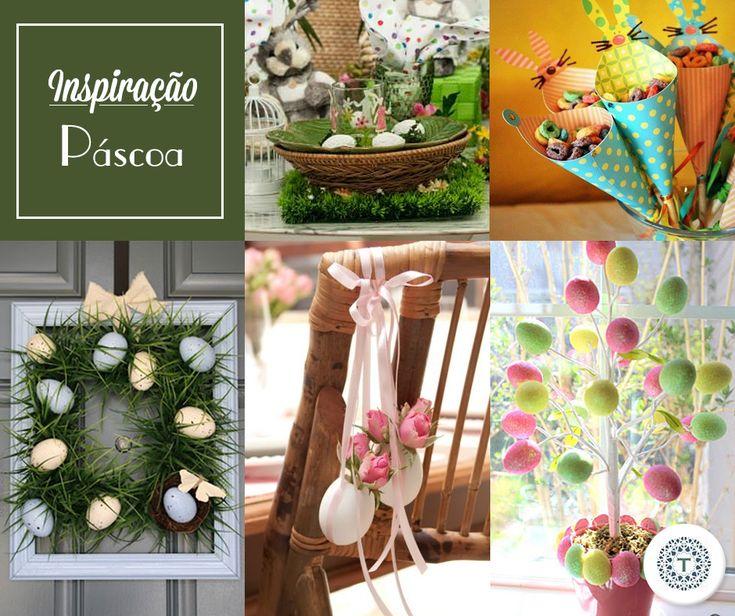Domingo é Páscoa! Assim, separamos algumas ideias para te inspirar para esse dia tão especial!
