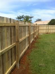 Pine Timber Fences.