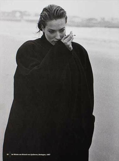 Tatjana Patitz - Quiberon - 1993 by Peter Lindbergh.                                                                                                                                                                                 More
