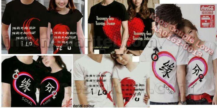 Kaos Couple Love AA0162-0013