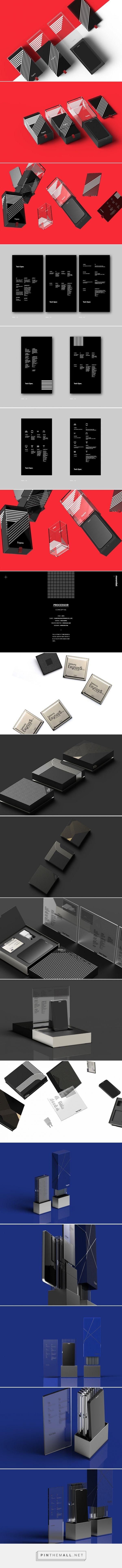 Samsung Exynos Packaging #Design by minimalist (Korea) - http://www.packagingoftheworld.com/2016/05/samsung-exynos-packaging.html