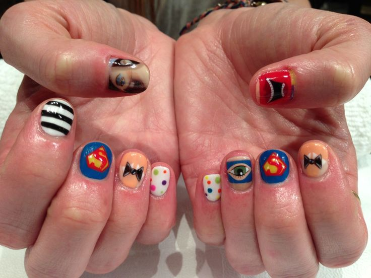 87 best sartle art history nail art images on pinterest nail george condo inspired nail art history prinsesfo Images
