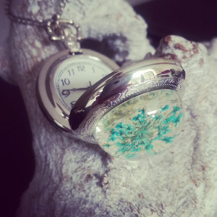 """Zakhorloge Ketting """"Queen Anne's Lace"""""""