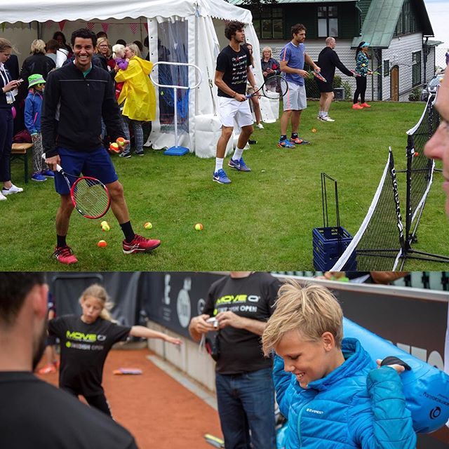MoveQ & ultimateinstability at Swedish Open, ATP & WTA tennis tournament in Båstad, Sweden 2016. Purposeful moving, making the body respond in the right way, with the right timing and for the right reasons. #moveq #mq #3dfunction #feelbetter #movebetter #performbetter #move #learn #grow #live #playful #fun #challenge #success #fun2move #cool2move #master2move #motordevelopment #cognitivedevelopment #scientificbased #measurable #head #ultimateinstability #coretex #plyosteps #moveqboard…