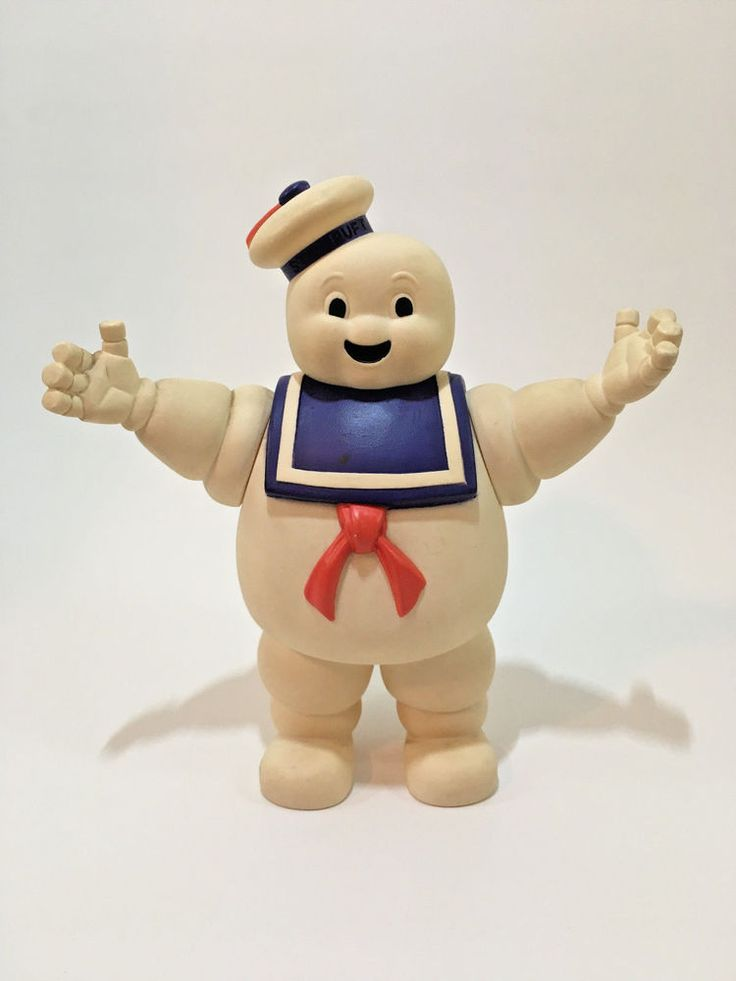 Vintage Stay Puff (Puft) Marshmallow Man Original Ghostbusters 1984 by Kenner