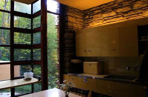 58 best images about frank lloyd wright designs on for Frank lloyd wright kitchen ideas
