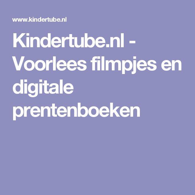 Kindertube.nl - Voorlees filmpjes en digitale prentenboeken