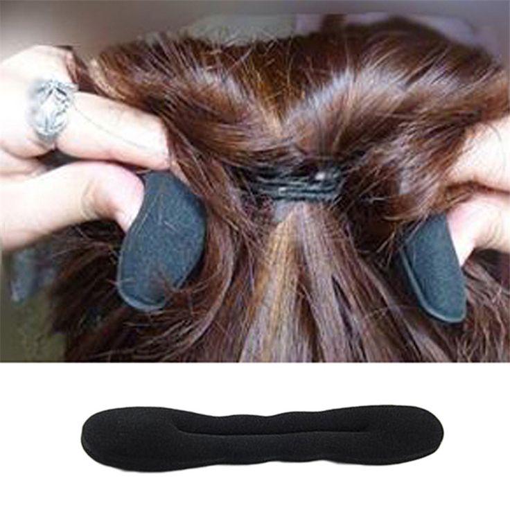 Shiping libre 1 unid Francés Espuma Magic Hair Styling Rizador de Esponja Fabricante Anterior Torcedura de la Herramienta
