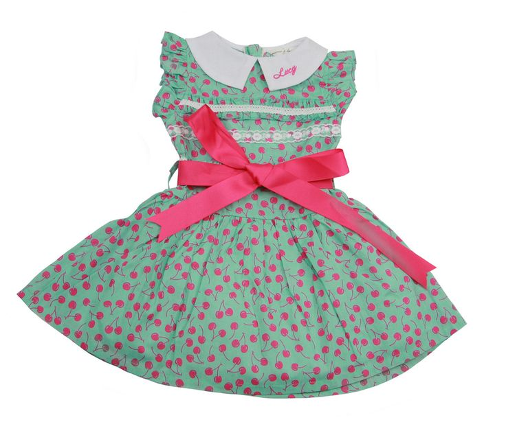 Vintage Fruity Cherry Pink Dress - $ 29.99