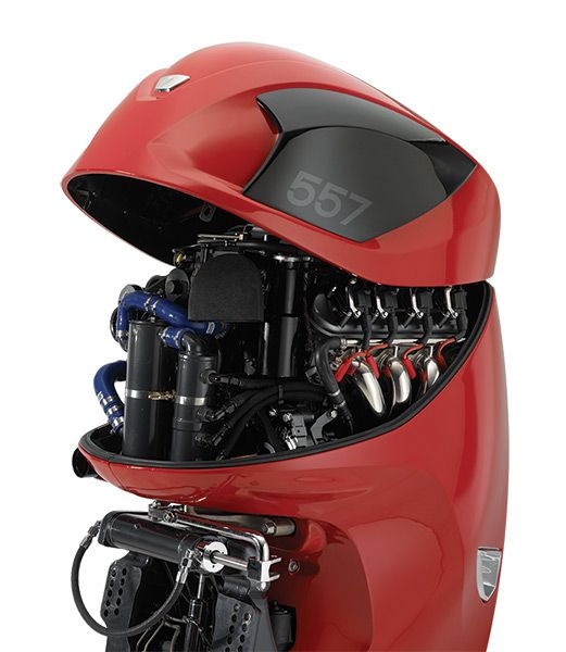 557 Hp 6 2l Supercharged V8 Outboard Pure Awesome