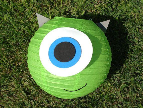 Monsters Inc. Mike Wazowski and Sulley Inspired Paper por adingkaki