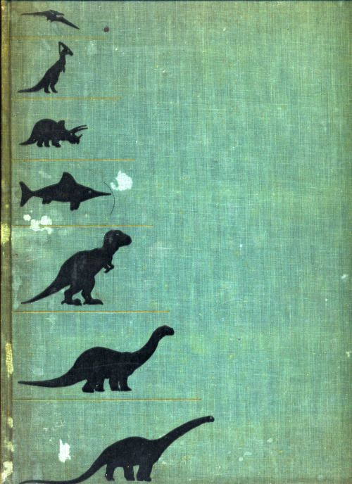 """From a beat up copy of """"Prehistoric Animals"""" by William E Scheele"""