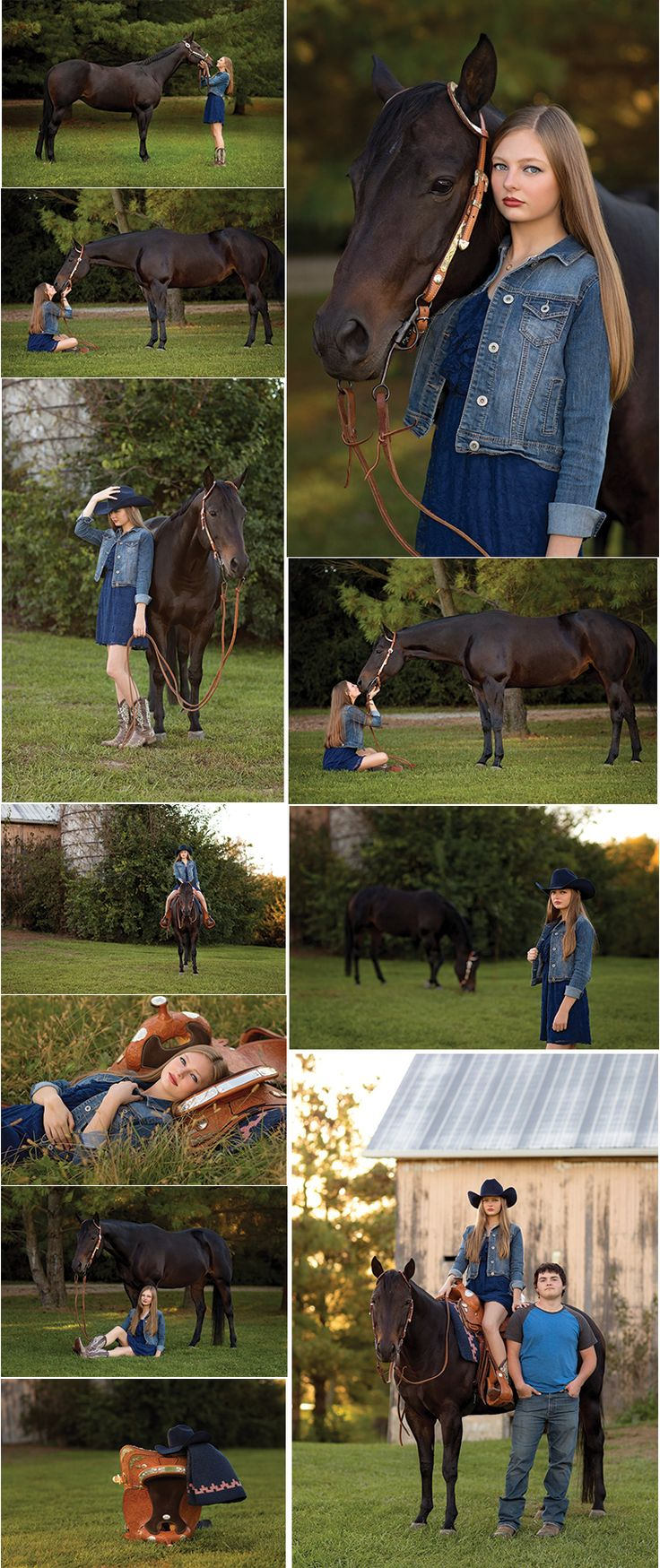 My Senior Pictures with Willow. I'm in love with them!