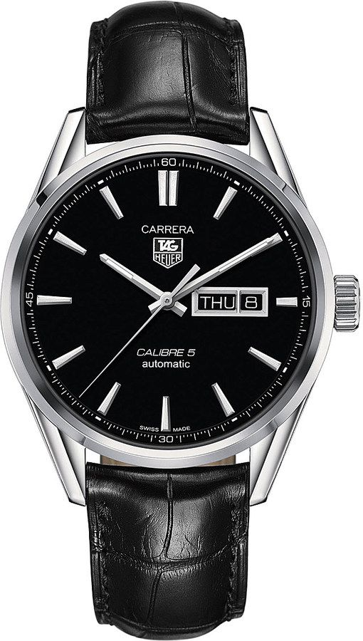 Tag Heuer Carrera Calibre 5 Day-Date Watch - for Men