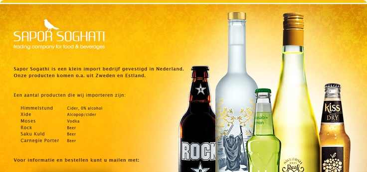Himmelstund uit Zweden. Cider met de lekkerste smaak.  En...nog alcoholvrij ook !!!!!!!!!!!