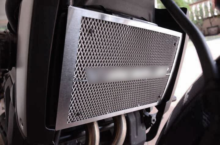 Mad Hornets - Radiator Grill Grille Guard Cover Kawasaki Vulcan S (2015) Black, $41.99 (http://www.madhornets.com/radiator-grill-grille-guard-cover-kawasaki-vulcan-s-2015-black/)