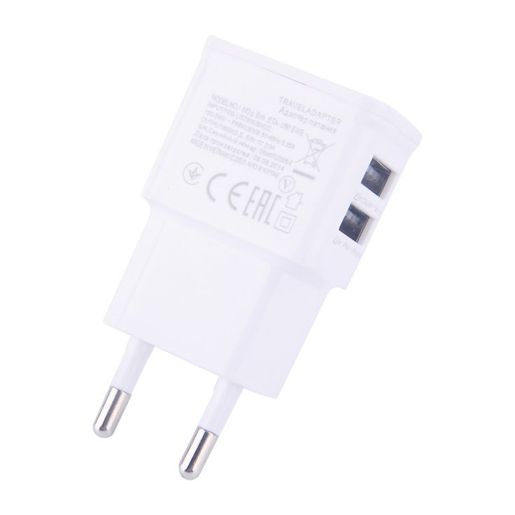 Dual EU 5V 2A plug USB Wall Charger Adapter Phone For iPhone 4 5 6 For Samsung Galaxy S3 S4 Note 3 Note 4 N9000 ** Details on product can be viewed by clicking the VISIT button