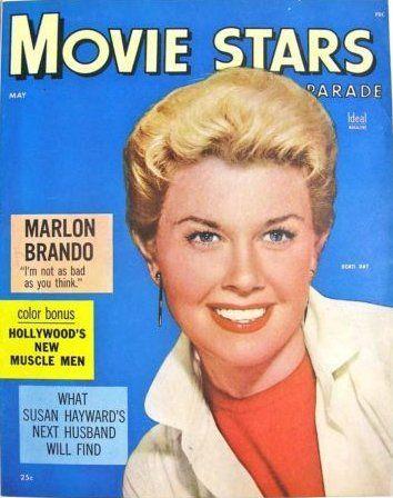 May 1955.  Doris Day.