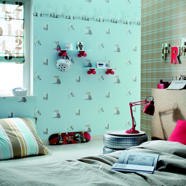 PROMOCIÓN COMUNIONES. Hasta el 31 de Mayo, te regalamos el papel pintado al comprar los muebles de tu dormitorio juvenil. En Kimobel no amueblamos, decoramos ;)