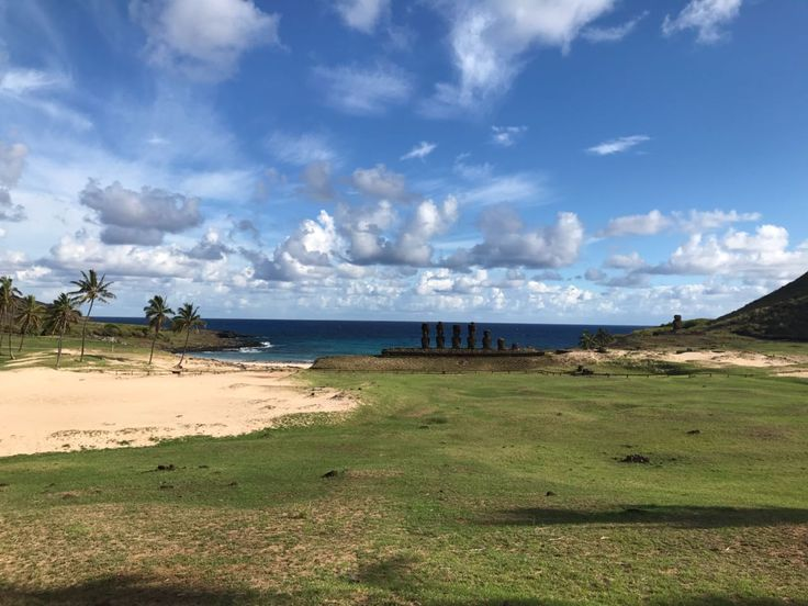 Would you like to visit the paradisiacal Anakena beach when nobody else is there? :D  Come and join our small group tours and live a semi private experience with us! Evoiding big crowds and hearing all the history and legends of Rapa Nui just for yourself! :)