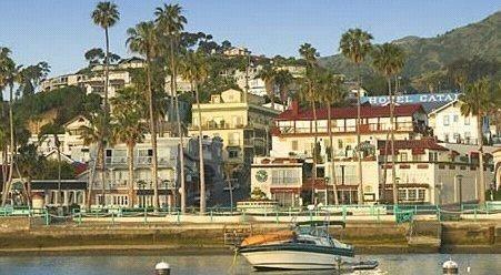 The Avalon Hotel on Catalina Island, California, USA