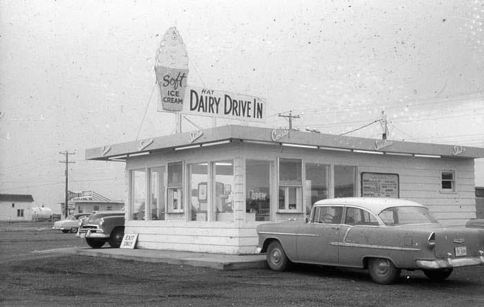 Ice cream shop, many a day spent here after a swim at the hill pool.