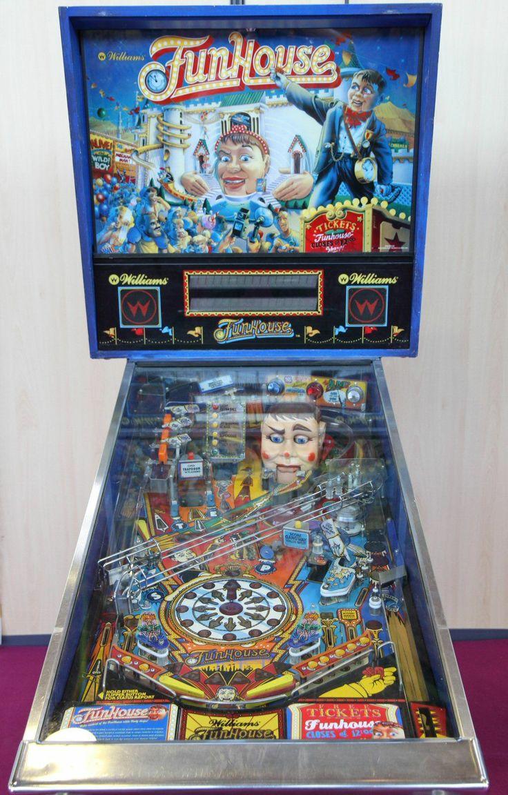 pinball machine funhouse