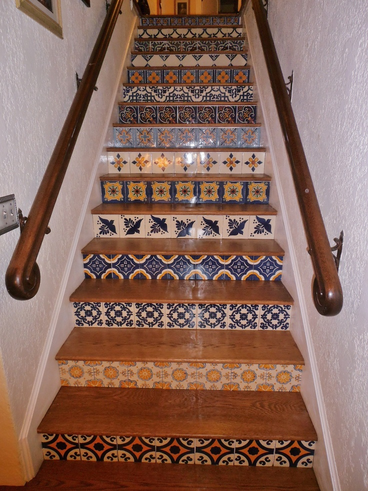 Best Tiled Stairs Tile Style Pinterest 640 x 480