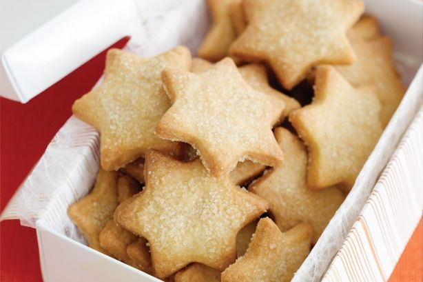Get a head start on your Chrissie presents by making these delicate sweet stars.